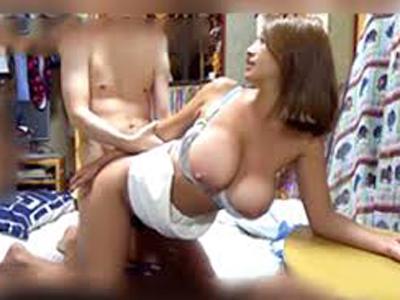 セフレの自宅で浮気SEX→隠し撮りに気付かず淫らに乱れる巨乳ギャル