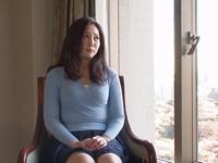 セックスレスで欲求溜まった巨乳人妻がAV応募→初めての背徳感に昇天イキ!