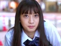 制服JKとオジサンが行った生々しい円光SEX動画が流出!