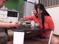 「また中に出したいの?」叔母の巨乳熟女・島津かおるとの中出し近親相姦SEX生活