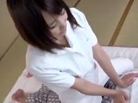 巨乳若妻マッサ嬢が温泉宿で客に口説かれ中出し寝取りされた一部始終