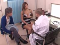産婦人科に来た巨乳黒ギャルが医者にチンポハメられマジ喘ぎw