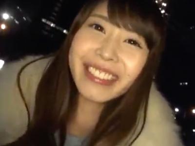 21歳女子大生と高級レストランデート→ホテル直行してハメ撮り決行!
