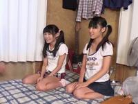日焼けあと残るガチロリ美少女2人がロリコンおじさんの家で中出し性教育され妊娠w