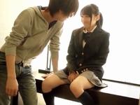 「んぁ…だめっ」イケメンの優しい愛撫に濡れまくりな美少女JK