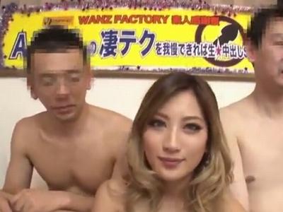 黒ギャルAIKAに生肉棒をブチ込み大量膣内射精!