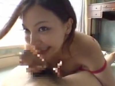 エロ下着の巨乳人妻がマッチョな不倫相手とホテルでイチャパコ!