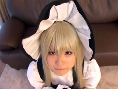 「いっぱい出してください…」性処理のために利用される純真なコスプレ美少女芦田知子