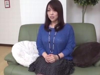 「すごい…もうだめぇ」巨乳妻が久々の性交に理性崩壊!