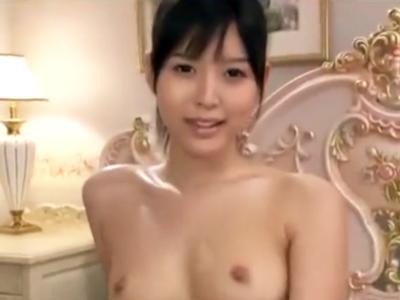 美乳美少女、葵つかさの締りの良い神オマンコでザーメン大量顔射