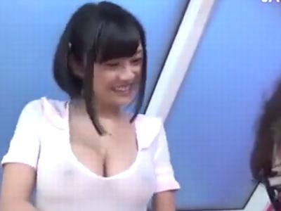 「んぁ…だめだよぉ」松岡ちなが撮影会でキモオタに無理やり迫られ犯されるw