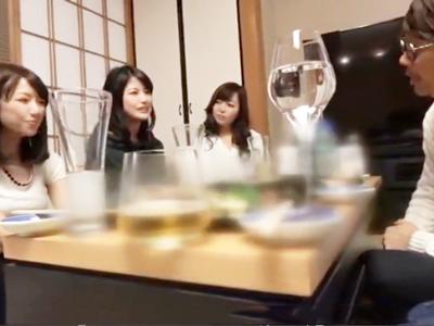 イケメン男優が人妻OLと合コン→中出しできるまで帰れま10