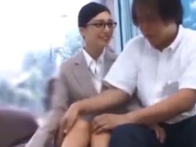 「緊張してるんですか?w」古川いおりがMM号で童貞狩り!