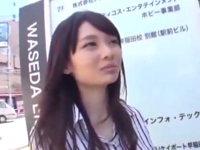アイドル顔の素人娘をナンパ→ホテルに連れ込み3P