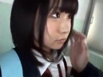 「んぁ…嫌ッ」鬼畜男に公衆便所でパコられる美少女JK