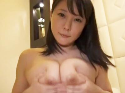 買い物中の爆乳妻をナンパゲット→ラブホ連れ込み即パコ!