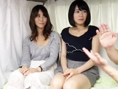 恵比寿でナンパした母&娘をラブホ連れ込み→親子丼SEXからの娘の方に中出しw