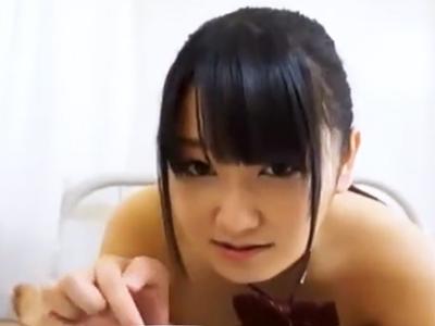 「食べたいです‥」担任教師の大人チンポをしゃぶり尽くす美少女JK
