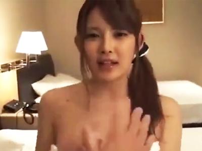 童顔な美少女とのホテルパコで生チンポぶち込み危なく抜いてザーメンぶっかけ