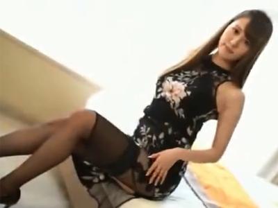 完璧なボディバランスのお姉様とホテル密会→割り切りハメ撮りSEXスタート!
