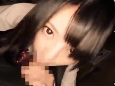「おじさんのドクドクいってる」円光JKの膣中に濃いザーメン流し込み