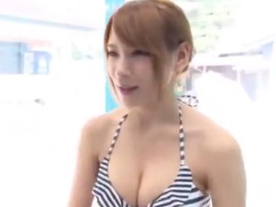 スレンダーのモデル級美女がMM号で素人チンポに激ピスハメされて中出し展開