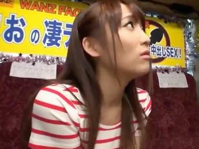 むっちり巨乳の倉田まおが素人チンポを熟練の凄テクで即イカセプレイ