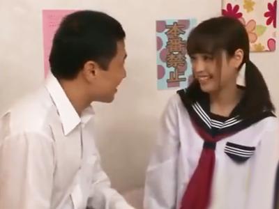 「スキだから…いいよ♪」学年一の美少女JKとこっそりパコ