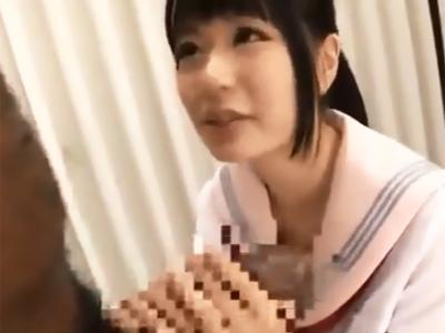 英語教師の黒人のチンポで教育的ハメされてイキ果てる美少女JK