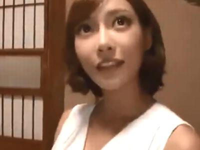 「声出ちゃうっ」明日花キララが一般家庭にお泊りし旦那をこっそり寝取るw