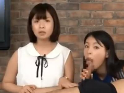 「汚チンポがいいのぉ!」終始喋りながら肉棒で突かれる女子アナw