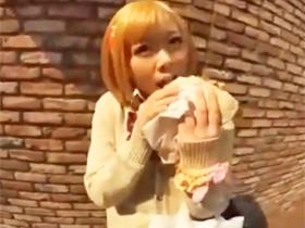 ギャル系のJK娘をガチパコ→締りの良い美マンコに興奮しうっかり中出し
