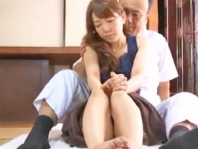 欲求不満な美人妻がマッサージ師のテクにあっさり発情浮気パコw