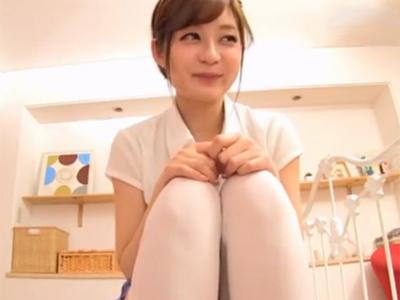 改造制服コスプレで勃起誘発してくる美少女とハメ→スカートに発射!