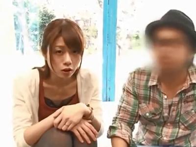 マッサージだと騙された美人妻が旦那以外のチンポで生中出しされてNTRアクメ
