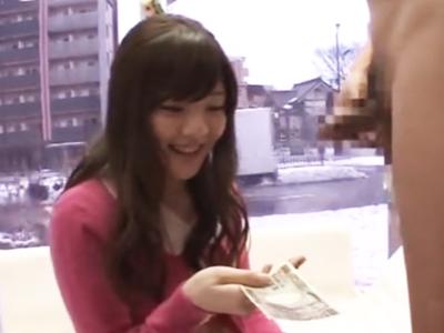 「趣味は‥料理です」黒髪ウブな女子大生が謝礼に釣られてMM号で激ハメ