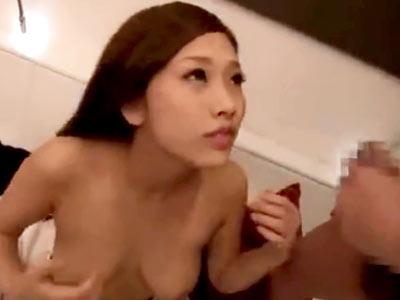 関西弁のぐうかわ巨乳素人JD(19)が非モテ男子をパイズリ奉仕→パコ突かれ派手に潮吹き