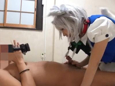 いぬさくやなコスプレ美少女がハメ撮りチンポに連続ガチイキ!