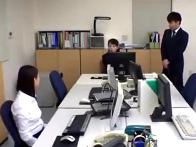 美人な上司OLにムラムラ→まだ仕事が残っているのにオフィスでガッツリパコ