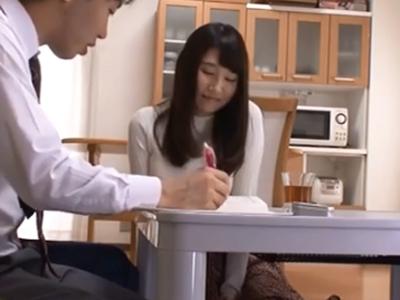 友達のお姉ちゃんに発情→中出ししちゃうイケナイお勉強会
