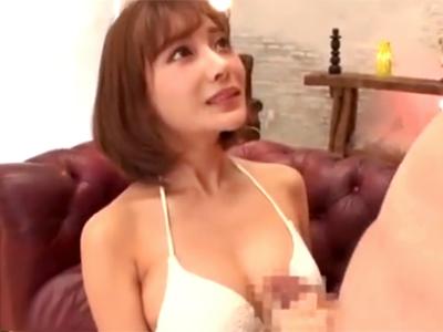 催眠術かけられ痴女モンスター化!明日花キララの完璧手コキフェラ奉仕