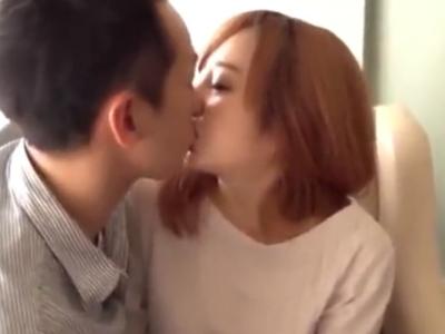 「恥ずかしぃ…でも興奮します…」エッチ大好き美女とラブラブハメ→とろけるキスに魅了され本気イキ