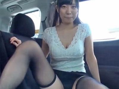 デビューして間もない巨乳美少女の桐谷まつりが1か月オナ禁してから肉欲温泉旅行に出発w