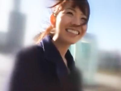 「あぁ…いっぱい…」アナウンサーみたいな美少女JDに奇跡のナンパハメ成功
