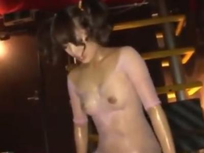 ロリ顔ギャルとのローションSEXが気持ちよすぎて膣内大量射精