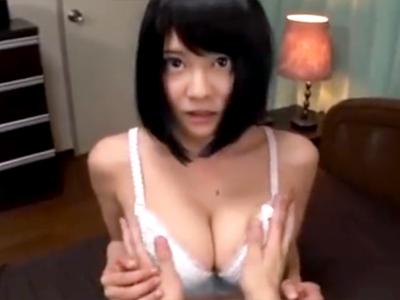 ロリ巨乳な妹に痴女られて近親相姦パイ射セックス!