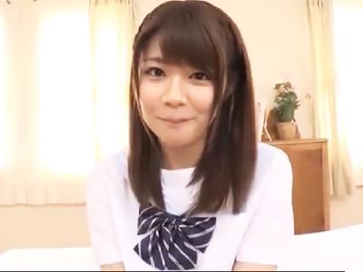 「んっぁ気持ちぃ!…ダメっかも…」色白美女デビュー作で初の本気イキ披露!