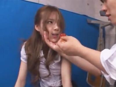 「っイヤ!もうヤメてぇええ!」美人教師レイプ→手首縛って欲望の済むまで犯しまくる