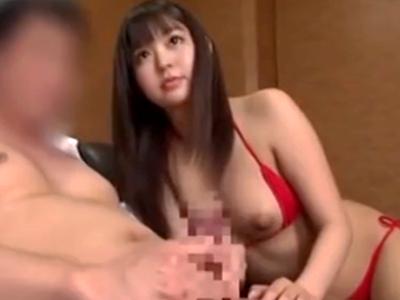 えちえち巨乳娘が素人男子を翻弄!じっくりねっとり奉仕して膣ハメ誘導
