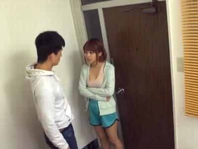 「だ、だめ!触らないでぇえ!」男性に触れられただけで濡れちゃう超敏感娘が隣人となし崩しパコw